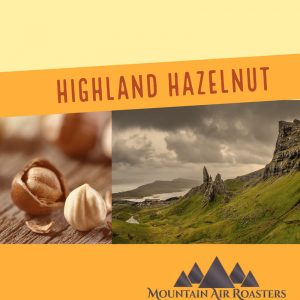 Highland Hazelnut Air Roasted Coffee artwork