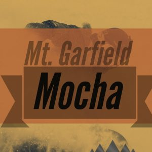 Mt Garfield Mocha flavored Specialty coffee air roasted in house