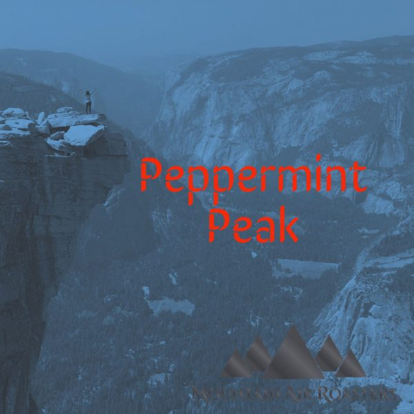 Mountain Air Roasters Peppermint Peak Air Roasted flavored Coffee