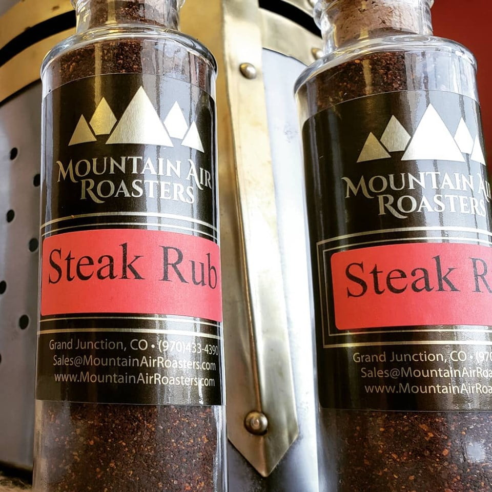 Coffee based Steak Rub created in house