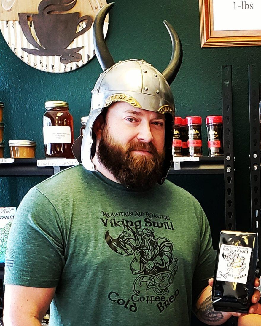 Viking Swill Coffee makes you feel like a Viking!